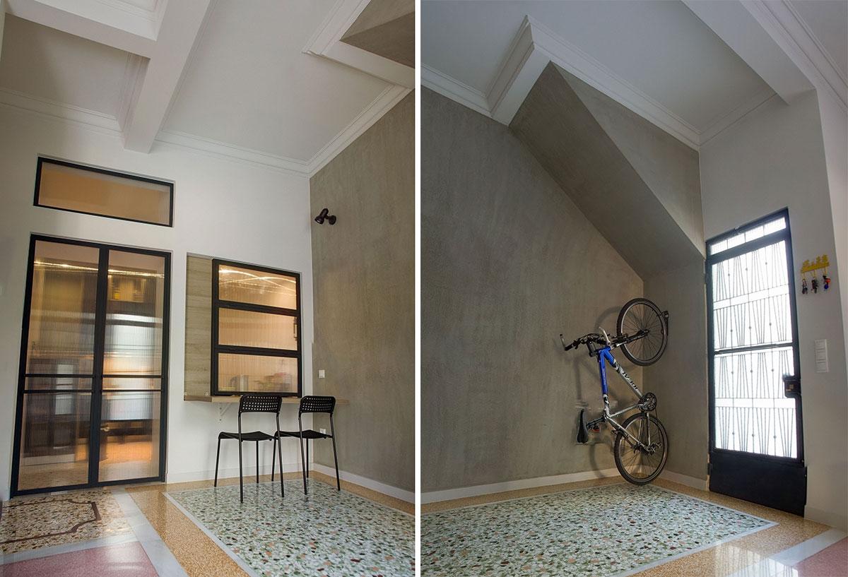 r novation d une maison des ann es 50. Black Bedroom Furniture Sets. Home Design Ideas